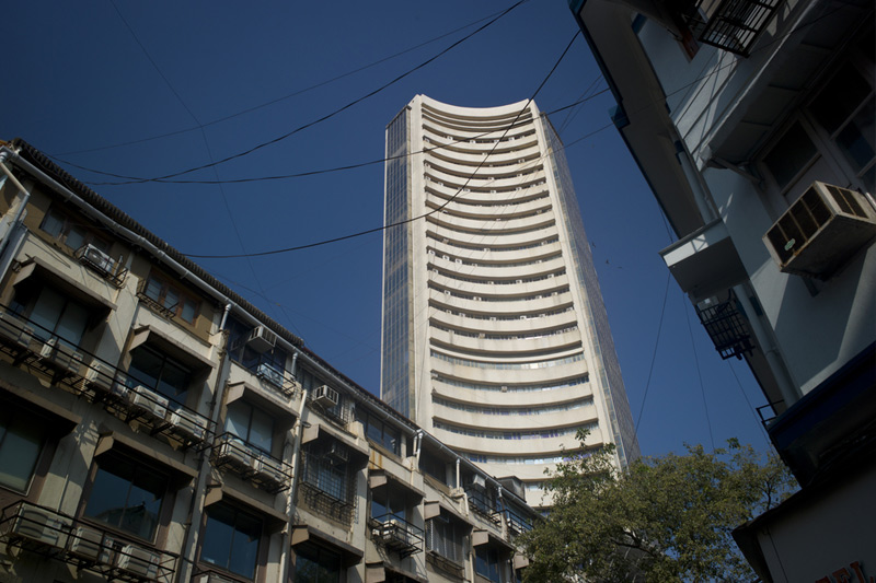 India stocks higher at close of trade